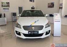 Bán xe Suzuki Ciaz 2018, màu trắng, tặng gói phụ kiện khủng khi đặt xe