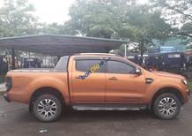 Cần bán xe Ford Ranger Wildtrak 2.2 sản xuất 2016, màu cam