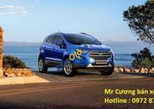 Bán ô tô Ford EcoSport Titanium sản xuất năm 2018, màu xanh, giá tốt