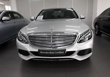 Cần bán xe Mercedes C250 bạc cũ 2017, màu bạc chính hãng, giá tốt nhất