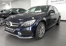 Bán Mercedes C300 2017 cũ, xanh đen, trả trước 400tr..ƯU ĐÃI CHÍNH HÃNG