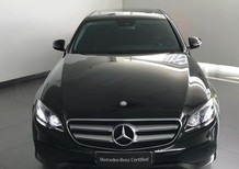 Bán Mercedes-Benz E250 đen 2016, cũ chính hãng, tiết kiệm 400tr