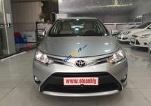 Bán Toyota Vios MT năm sản xuất 2015, màu bạc số sàn