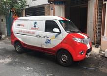 Cần bán xe van chở hàng Dongben X30 màu đỏ, nhập nguyên chiếc 195tr
