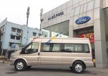 Ford Transit Mid năm 2018, màu bạc, đen, phấn hồng, trắng, giao tại Sơn La, LH 0941.921.742