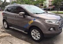 Bán xe Ford EcoSport 1.5AT Titanium 2016, màu nâu xe gia đình