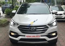 Bán Hyundai Santa Fe sản xuất năm 2016, màu trắng, giá 999tr