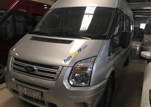 Bán Ford Transit năm 2015, màu bạc ít sử dụng