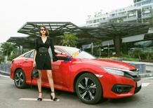 Cần bán Honda Civic G năm sản xuất 2018, màu đỏ, nhập khẩu nguyên chiếc, giá tốt