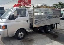 Bán xe tải 9.9 tạ máy dầu, thùng dài 3,2 mét, có điều hòa, trợ lái, cabin Hyundai giá rẻ