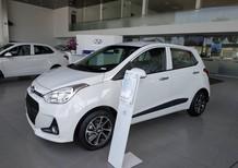 Bán Hyundai i10 Hatchback 2018 màu trắng, nhập khẩu chính hãng, giá rẻ Đà Nẵng