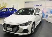 Bán Hyundai Elantra 2018 màu trắng, nhập khẩu chính hãng, giá rẻ Đà Nẵng