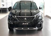 Bán xe Peugeot 3008 All New sản xuất năm 2018, màu đen, tặng 01 năm bảo hiểm thân vỏ