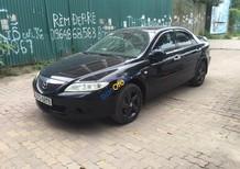 Bán Mazda 6 sản xuất 2005, màu đen, xe đi ít zin 100%, giá cạnh tranh