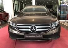 Bán xe Mercedes E250 cũ màu nâu, ĐK 2018 siêu lướt như mới, giá rẻ gần 400 triệu
