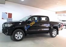 Bán ô tô Toyota Hilux 2.4E sản xuất năm 2018, màu đen, nhập khẩu Thái Lan số tự động giá cạnh tranh