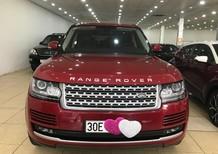Bán Range Rover HSE 3.0 màu đỏ, sản xuất 2015, đăng ký 2016, xe đi cực ít, nội ngoại thất như mới, bản full