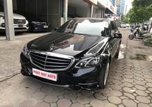 Cần bán Mercedes E200 sản xuất năm 2015, màu đen, nội thất kem, biển Hà Nội, xe cực đẹp