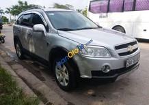 Cần bán Chevrolet Captiva sản xuất 2009, màu bạc