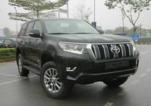 Bán Toyota Prado 2.7 VX màu đen, giao xe sớm, hỗ trợ vay tới 85%
