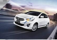 Cần bán Mitsubishi Attrage CVT năm sản xuất 2018, màu trắng, nhập khẩu