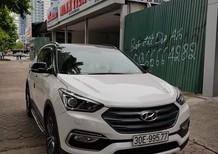 Cần bán lại xe Hyundai Santa Fe 2.4 4WD năm 2017, màu trắng