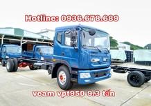Bán xe Veam PT950 9.5 tấn, giá rẻ nhất, thùng dài 7.6m, Euro 4
