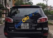 Cần bán xe Hyundai Santa Fe MLX sản xuất năm 2007, màu đen như mới, giá 470tr
