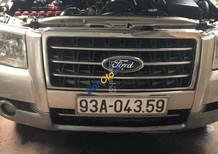 Cần bán Ford Everest sản xuất năm 2007, màu bạc, giá tốt