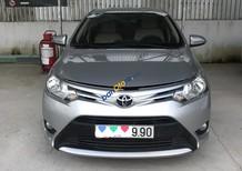 Bán ô tô Toyota Vios E 1.5MT số sàn, đời 2017, màu bạc