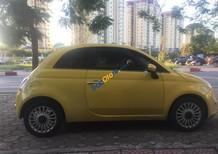 Cần bán gấp Fiat 500 năm sản xuất 2009, màu vàng, nhập khẩu, giá tốt