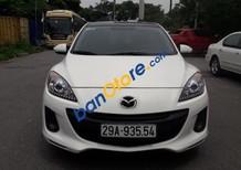 Cần bán xe Mazda 3 1.6 AT sản xuất năm 2013, màu trắng như mới