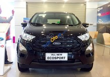 Phú Thọ Ford bán Ford Ecosport 1.5 Ambiente màu đen 2018, giá tốt, hỗ trợ trả góp, LH 0974286009