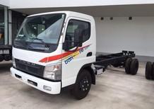 Cần bán xe tải Fuso 5 tấn năm 2017, màu trắng, trả góp