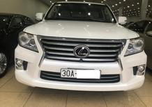 Bán Lexus LX570 Xuất Mỹ màu trắng, nội thất kem, biển Hà Nội, xe chủ đi giữ gìn rất mới