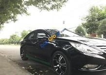 Cần bán lại xe Hyundai Sonata năm sản xuất 2011, màu đen, 525tr