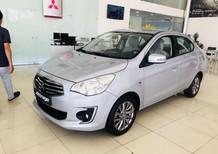 Bán Mitsubishi Attrage màu bạc, nhập khẩu, giá tốt, L/H 0905707926