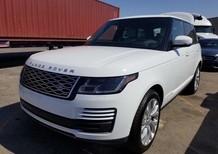Bán Landrover Rangerover HSE 3.0V6 model 2019 màu trắng, nội thất kem, xe xuất Mỹ phom mới