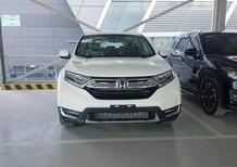 Honda CR-V 1.5L 2018 màu trắng, phiên bản cao cấp nhất. Giao tháng 11-12/2018. Hotline Honda ô tô Quận 7: 0934.017.271