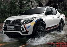 Cần bán xe Mitsubishi Triton GLS sản xuất 2018, màu trắng, xe nhập