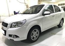 Cần bán xe Aveo 2016, LTZ, màu trắng, xe nhà ít đi