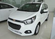Giá xe 5 chỗ Chevrolet Spark LS số sàn đời 2018, màu trắng, giá rẻ. LH- 0936.127.807 mua xe trả góp trên toàn quốc