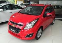 Giá xe 5 chỗ Chevrolet Spark 1.2 LS số sàn đời 2018, màu đỏ, giá rẻ. LH- 0936.127.807 mua xe trả góp trên toàn quốc