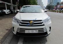 Bán xe Toyota Highlander LE sản xuất năm 2018, màu trắng, nhập khẩu số tự động