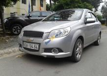 Cần bán xe Chevrolet Aveo LT đời 2015, màu bạc