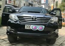 Cần bán gấp Toyota Fortuner G đời 2016, màu đen