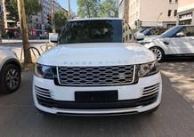 Bán LandRover Range Rover Autobio LWB Model 2019, 5 chỗ, màu trắng, nội thất nâu, nhập Mỹ, giá tốt