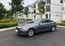 Cần tiền bán BMW 528 đk 2010, xe bản full, màu xám, cửa hít