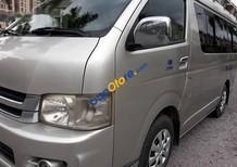 Chính chủ bán Toyota Hiace Super Wagon năm 2007, màu bạc, xe bản đủ víp, tư nhân