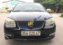 Bán xe Toyota Vios MT sản xuất 2005, màu đen, giá chỉ 165 triệu